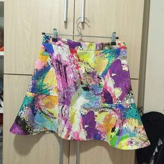 Printed skirt (almost new)