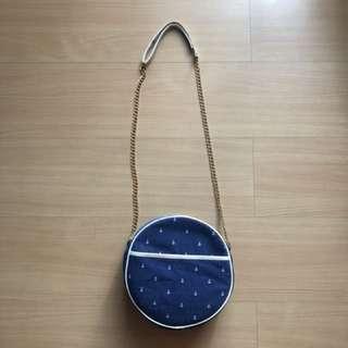 Nautical Sling Bag