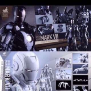 Hot toys Ironman stealth and subzero misb