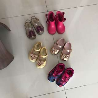 Girl shoes.