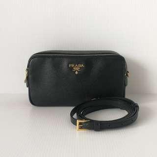 Authentic Prada Saffiano Mini Bag
