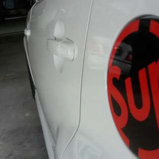 SUPREME CROSSHAIR FUEL COVER STICKER FOR MYVI
