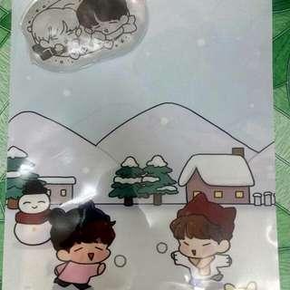 Sunggyu Woohyun Fansite goods