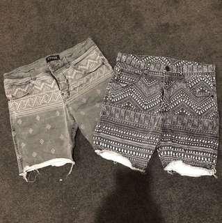 Men's shorts 2 Pairs