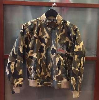 Army look Woman Jacket
