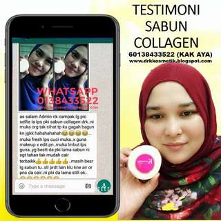 TESTIMONI SABUN COLLAGEN DRM