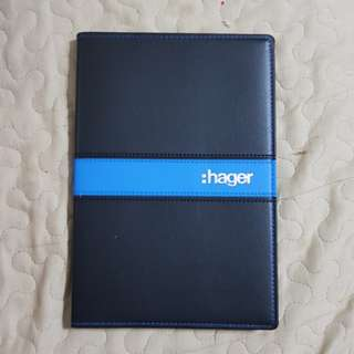 Hager 2018 Planner and Notebook (free 2018 Hager Calendar)