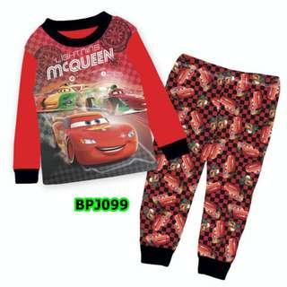 Mcqueen sleep wear set