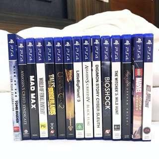 Cheap Playstation 4 Games PS4