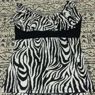Zebra Tankini