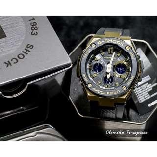 """Casio G-Shock """"GST-S100G-1ADR""""( 分層防護構造 全新G-STEEL 系列 / GST-S100G-1A/1 )( 信用卡/分期付款/門市現金交易折扣優惠 )02/04"""