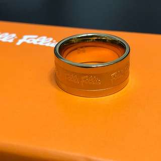 Folli Follie Ring (Size 54 Gold colour)