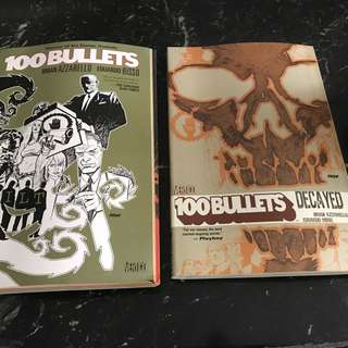 100 Bullets package : WILT & DECAYED