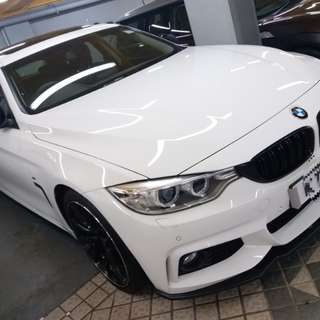 BMW 420I M SPORT COUPE 2015