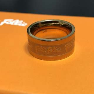 Folli Follie Ring (Size 50 Rose gold colour)