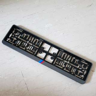 M Performance Carbon Design Carplate