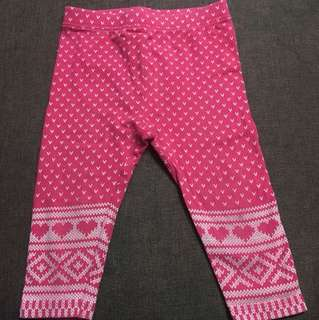 Preloved Baby Gap leggings