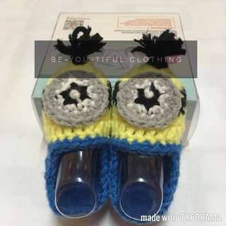Minions Mini Knitted Shoes