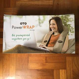 (Brand New) OTO Power Wrap (wireless & rechargeable)