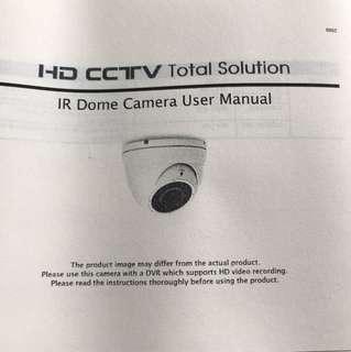Full HD CCTV camera. Avtech Taiwan. 2 units.