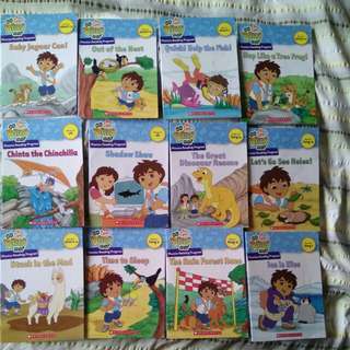 Go Diego Go Reading Programme 12 books Set 1