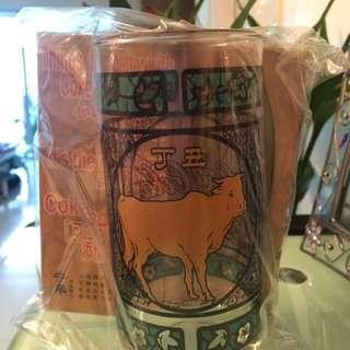 1997年丁丑年 可口可樂紀念版玻璃杯