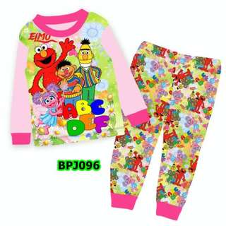 Elmo and friends sleep wear set