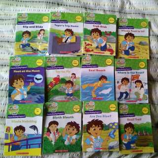 Go Diego Go Phonics Reading Programme Complete Pack of 12 books - Pack 2