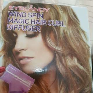 Final Reduction Korea Wind Spin Magic Hair Diffuser