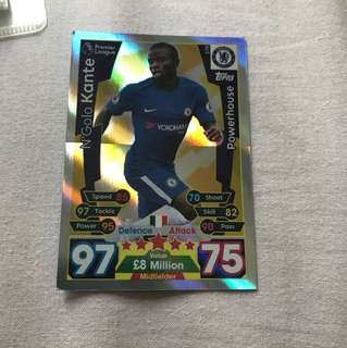 Kante powerhouse card match attax 2017/2018