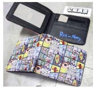 「Rick and Morty 瑞克和莫蒂 錢包 短夾 皮夾 @公雞漢堡」