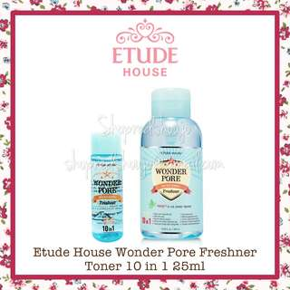 Etude House Wonder Pore Refreshing Toner