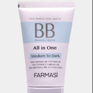 FCC Beauty Balm (BB) Cream (Light to Medium) & (Medium to Dark)