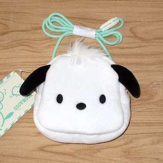 Sanrio 日本正版 PC狗 Pochacco 掛頸 頭型 散紙包