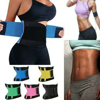Unisex Xtreme Power Belt Hot Slimming Thermo Body Shaper Waist Trainer Corset Fitness Tummy Control Trimmer Shapewear