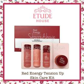 Etude House Red Energy Tension Up Skincare Kit