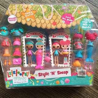 Lalaloopsy Minis Style n Swap Sand E Starfish & Coral Sea Shell