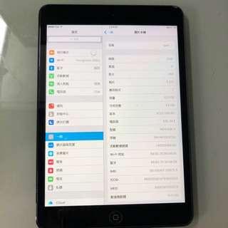 iPad mini 1 16GB WiFi+Cellular 無花