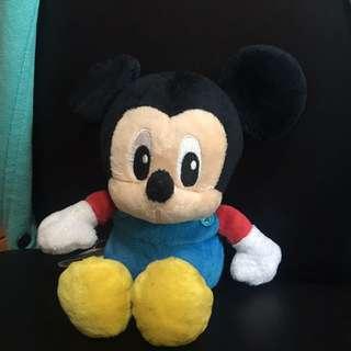 Disney Mickey Mouse plushie