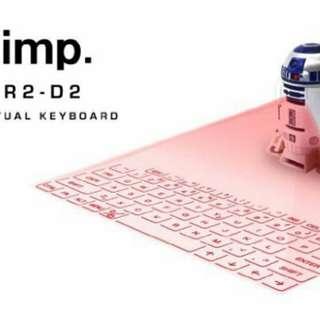 IMP R2D2 virtual keyboard STARWARS