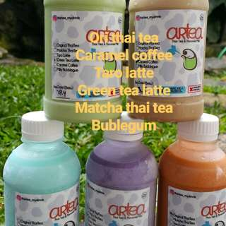 Flavour milk & thai tea