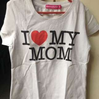 💬 I Love My Mom Shirt 💬