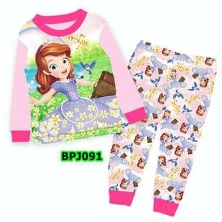 Sofia the first pink pyjamas set