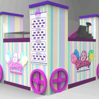 Cotton Candy Kiosk
