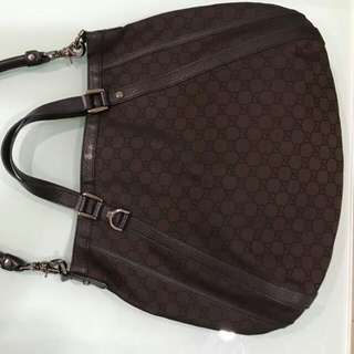 Reprice Gucci abbey comes with booklet, dust bag and paper bag (34-43×35cm)-1t4