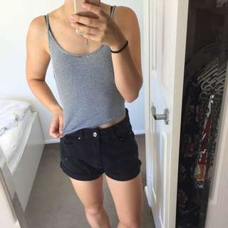 all about eve singlet crop