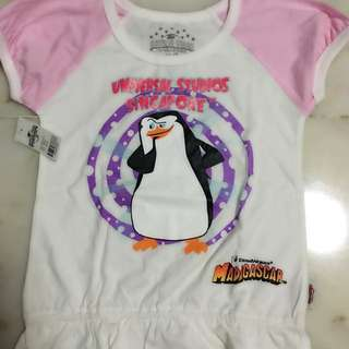 BN Universal Studios Singapore Top for 4 years old