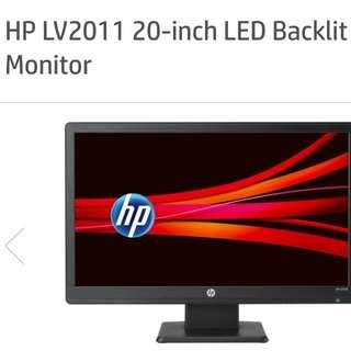HP LV2011 20 Inch LED Backlit LCD Monitor