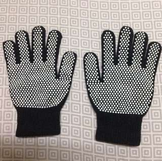 Rubber dotted gloves rubberized cotton gloves