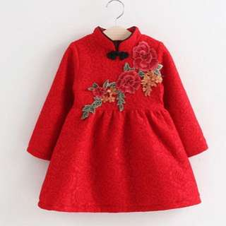 Cheongsam dress baby